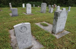 The Only Hebrew Cemetery in Northern Ontario